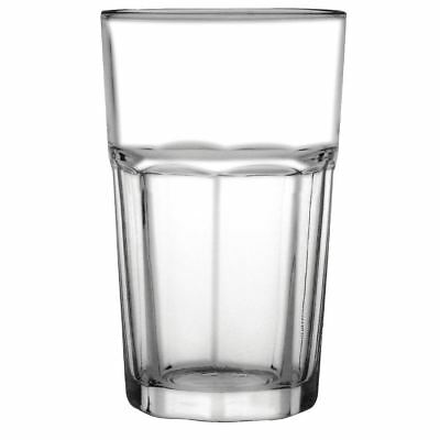 12 X Olympia Orleans Hi Ball Glasses 425Ml Tumblers Restaurant Bar Tableware
