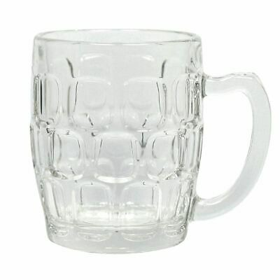 36x Handled Beer Mugs 285ml Cocktail Wine Drinking Tumblers Restaurant Barware