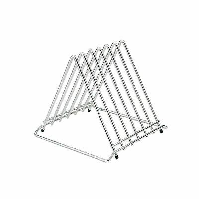 Hygiplas Chopping Board Rack with Six Slot Made of Stainless Steel