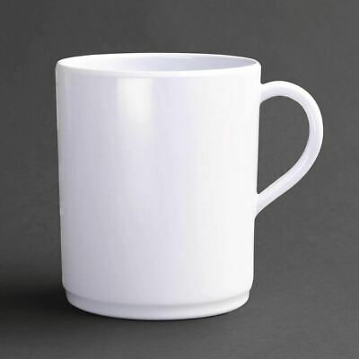Pack of 6 Kristallon Melamine Mugs 350ml