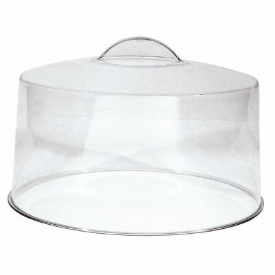 Cake Display Cover Lid Acrylic Dome Party Tableware With Moulded Handle