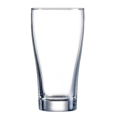 48x Arcoroc Conical Beer Glasses 285ml Cocktail Wine Drinking Tumblers Barware