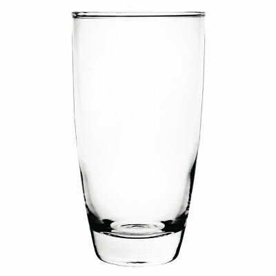 Pack of 12 Olympia Conical Water Glasses 410ml Glass Hi Balls