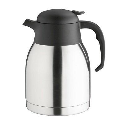 Olympia Vacuum Jug 1.5Ltr Stainless Steel Mug Cup Creamer Pitcher