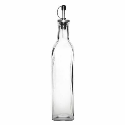 Olympia Olive Oil Bottle Kitchen Storage Glass Dispenser Vinegar Tableware