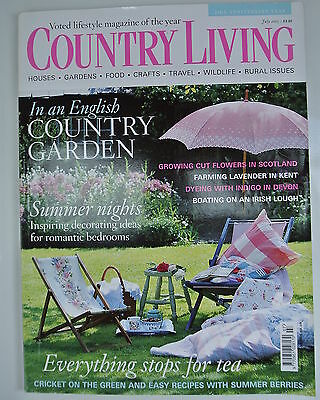 Country Living Magazine. July, 2005. Issue No. 235. In an English Country Garden