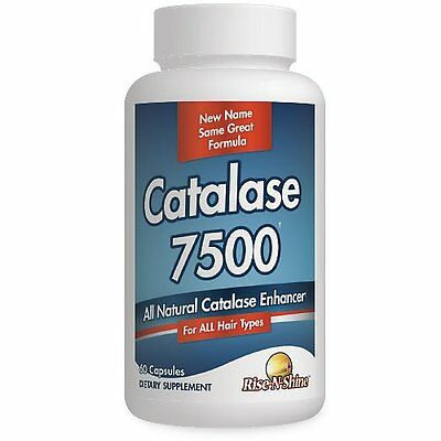 Catalase Extreme 7500-Formerly Go Away Gray-Natural Hair Restoration-60 Capsule