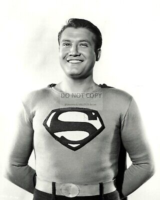 George Reeves In 'adventures Of Superman' - 8X10 Publicity Photo (Da-444)