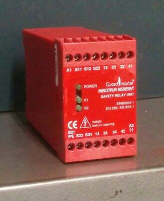 Guardmaster MSR25R/T Monitoring Safety Relay Unit  23076