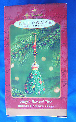 Hallmark Christmas Ornament Angel Blessed Tree NEW 2000 handcrafted