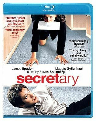SECRETARY (James Spader, Maggie Gyllenhaal)  - BLU RAY - Sealed Region free