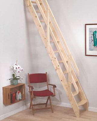 Amsterdam Wooden Space Saver Staircase Kit (Loft Stair / Ladder)