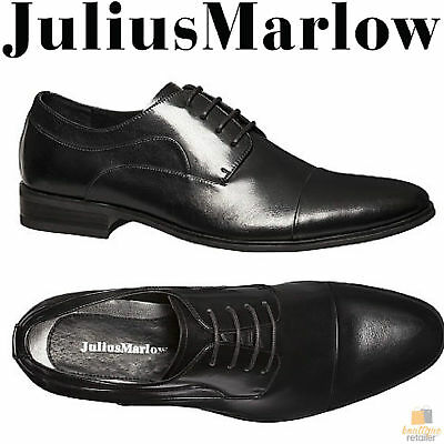 JULIUS MARLOW Cyrus Mens Leather Shoes Lace Up Dress Work Formal Casual Business