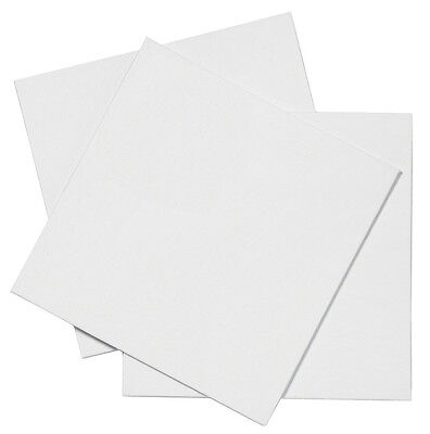 Pebeo White Synthetic Cotton Square Canvas Painting Board - 20 x 20 cm