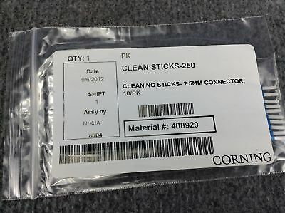 Corning Clean-Sticks-125  Lot Of 47 ,  Corning Clean Stick  250 Lot Of 47