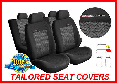 Tailored seat covers for Smart ForFour 2004 - 2006  full set  grey3