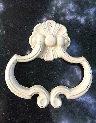 "Antique Hardware Vintage Drawer Pull Knob Shab Chic French Provincial 1""centers"