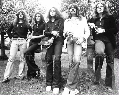 Deep Purple Photo 8x10 inch '70s Band - Group Candid Fuji Archival Pro Print 1