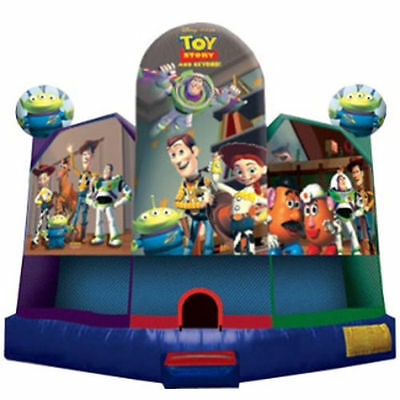 Jumping Castle Toy Story Hire Only Melbourne Children Party Entertainment Hire