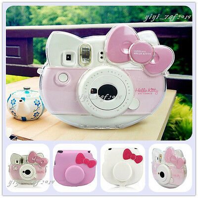 CAIUL Comprehensive Protection Camera Case Bag for Fujifilm Instax Hello Kitty