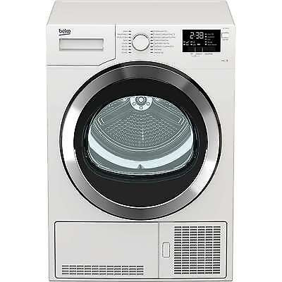 Beko DCY9316W 9Kg 2 Temps Condenser Tumble Dryer with Reverse Action in White