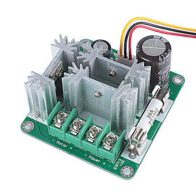 6V-90V 15A Pulse Width Modulator PWM DC Motor Speed Control Switch Controller US