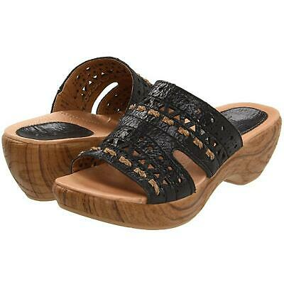 Klogs Nicks Women/'s Leather Sandals Display Model Distressed Wiskey 7.5 M