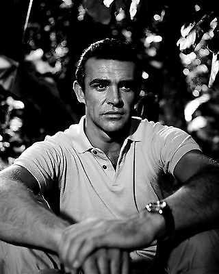 """Sean Connery In The Film """"dr. No'' James Bond - 8X10 Publicity Photo (Zz-341)"""