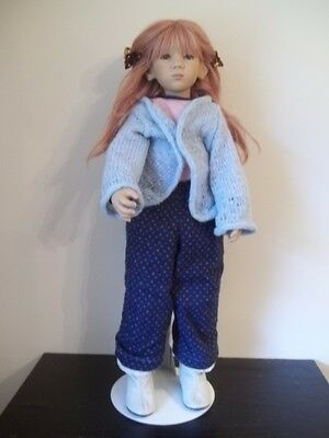 """ANNETTE HIMSTEDT """"PAULINE"""" 2004 Play Street Collection 28"""" DOLL IN Box AMAZING!!"""