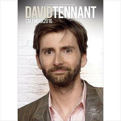 Sale !! Sale !! David Tennant Large Wall Calendar 2016 New And Factory Sealed