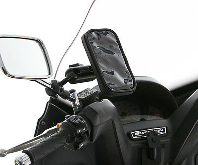 "Scooter 8-16mm 3"" Extended Mirror Mount + Water Resistant Case for Galaxy Alpha"