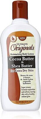 Ultimate Organics Cocoa Butter & Shea Butter Lotion for extra dry skin 12oz