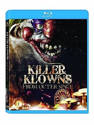KILLER KLOWNS FROM OUTER SPACE (1988)  -   Blu Ray - Sealed Region free