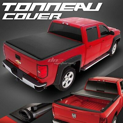 Hidden Roll-Up Vinyl Tonno Tonneau Cover For 99-07 Silverado/sierra Short Bed