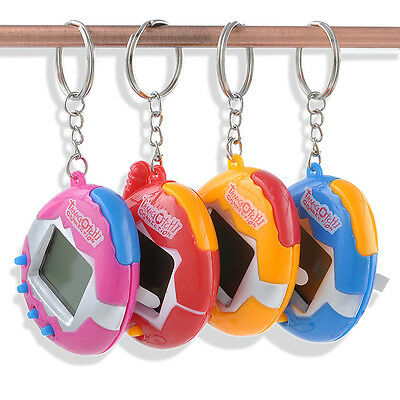 49 Pets in One Virtual Pet Cyber Game Pet Toy Funny Tamagotchi Pocket Keychain