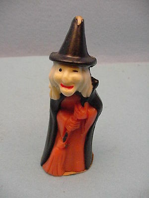 Vintage Gurley Halloween  Witch  With  Broom