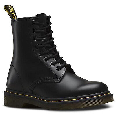 Dr. Martens Unisex 1460Z 8 Lace Up Leather Boots Shoes Doc Martins - Smooth