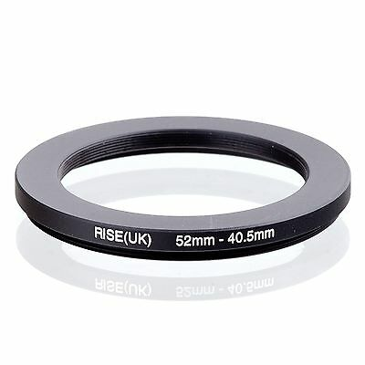 RISE(UK) 52mm-40.5mm 52-40.5 mm 52 to 40.5 Step down Ring Filter Adapter black
