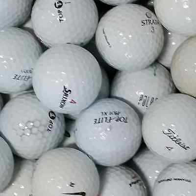 100 Titleist, NIKE, Callaway, Mixed Brand Golf Balls *** Clearance SALE ***