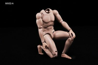 New 1/6 Action Figure Male Body  MX02-A In Stock Caucasian Skin