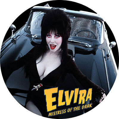 CHAPA/BADGE ELVIRA Mistress Of The Dark . pin button cassandra peterson vampira