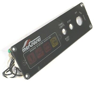 MERCURY DIESEL ENGINE Monitor Panel - D1 7L Mercruiser - Quicksilver -  806385T