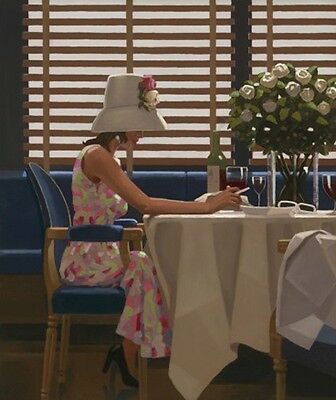 Jack Vettriano - Days of Wine and Roses - Limited Edition Print - Signed 64x54,5