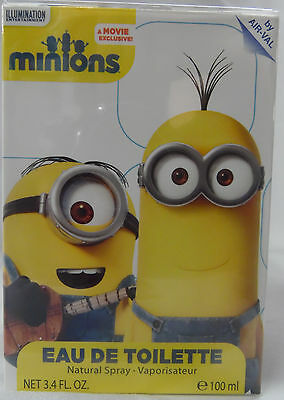 Minions By Universal Studios 3.4 Oz / 100 Ml Edt Spray Nib For Boy