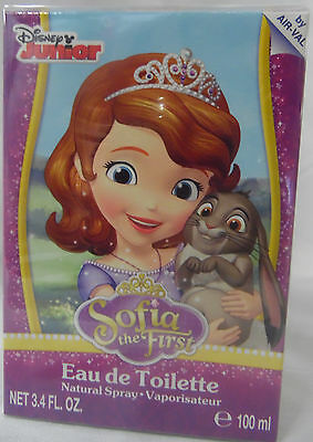 Princess Sofia The First By Disney Juniors 3.4 Oz / 100 Ml Edt Spray Nib Girls