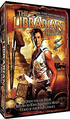 THE LIBRARIAN TRILOGY 1 2 & 3 Box Set   -  DVD - PAL Region 2 - New