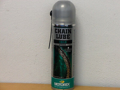 29,60€/l Motorex Chain Lube Road Strong 500 ml Kettenspray