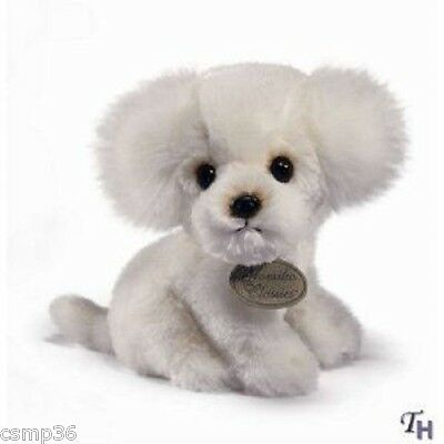 "Russ Yokimo Bichon Frise 8.5"" CUUUTTTEEE  Puppy Dog New with Tags"