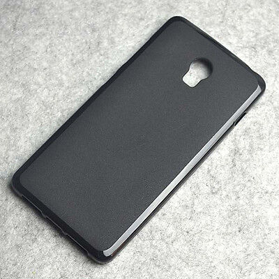 For Lenovo Vibe P1 Black TPU Matte Gel skin case cover