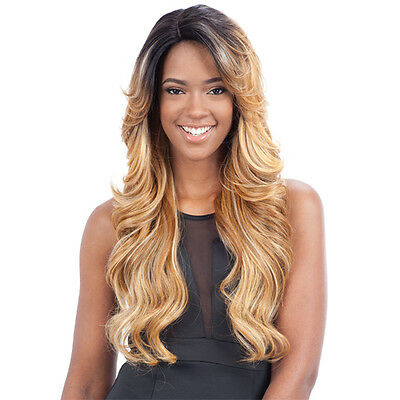 Freetress Equal Synthetic Hair Lace Deep Invisible L Part Lace Front Wig MIZZY